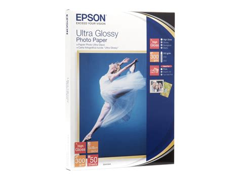 bureau vallee orgeval epson ultra glossy photo paper papier photo 50 feuille