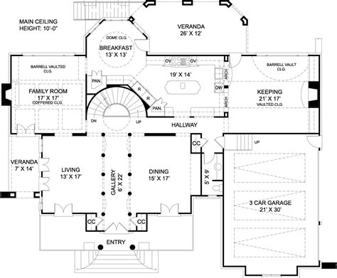 plans for house chiswick house 7939 4 bedrooms and 3 baths the house
