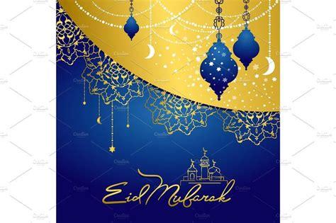 eid mubarak arabic muslim card design card design eid