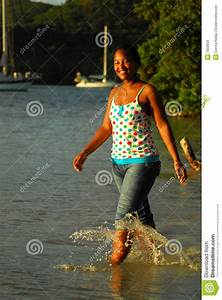 Beautiful Caribbean Island Girl Royalty Free Stock Images ...