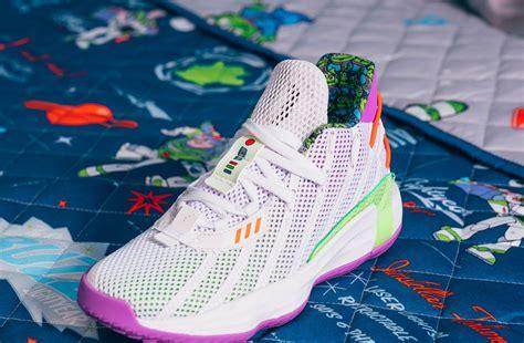 damian lillard drops  toy story colorway adidas shoe