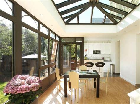 cuisine dans veranda 99 best véranda aménagement déco images on house extensions cottage and frostings