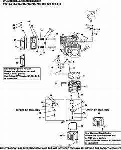 Kohler 22hp Courage Engine Parts Diagram