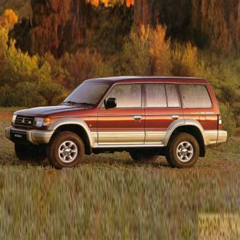 mitsubishi pajero workshop manual 1991 1999 only repair manuals