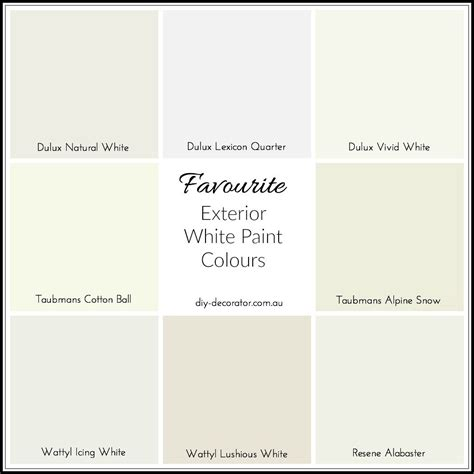 white house colors white exterior paint colour ideas diy decorator