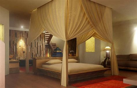 canopy bed sheers 16 and bedroom designs home design lover