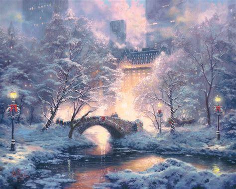 christmas in central park back drops for santa pics bridges
