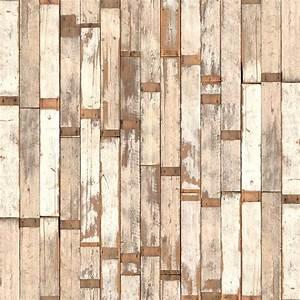 Papier Peint Photo : papier peint scrapwood 02 nlxl by arte ~ Melissatoandfro.com Idées de Décoration