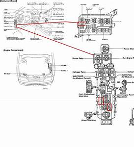 New 2013 Toyota Corolla Fuel Pump Relay Location