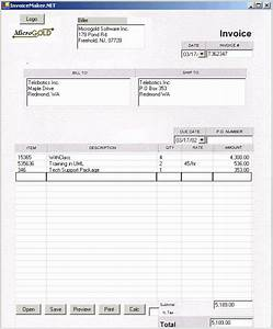 technograbber juillet 2008 With intuit invoice forms