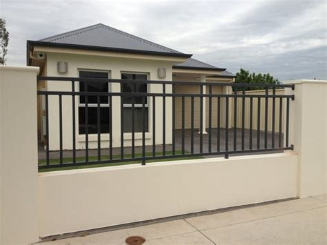 modern metal fence design about wrought iron fence modern homes plus designs trends savwi com