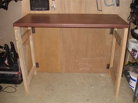 how to make a work table make a cheap fold down workbench