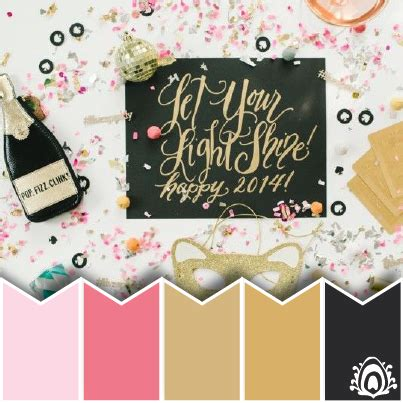 colors for new years new year wishes color palette pastel feather studio