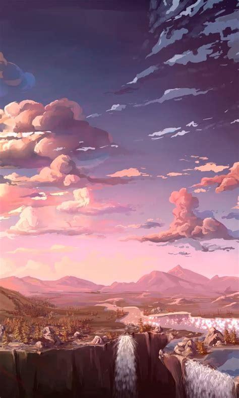 beautiful anime world hd wallpaper mthemes