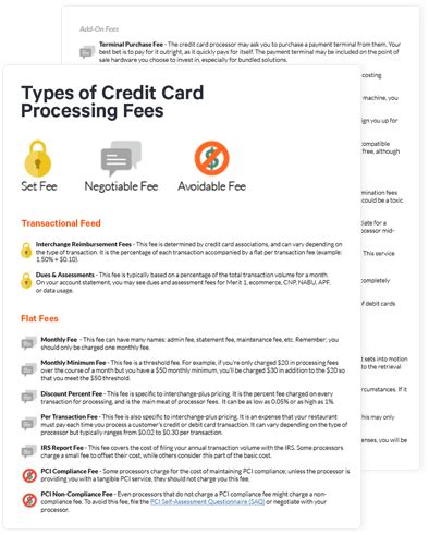 guide  restaurant credit card processing toast pos