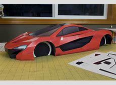 McLarenP1visualspicerSupercarPapercraft6 Les Voitures