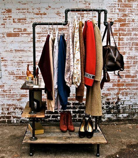 industrial clothing rack get rich or diy tryin industrial clothing rack