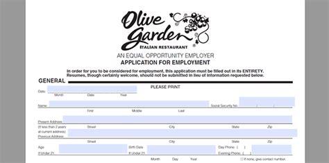 olive garden application olive garden application adobe pdf apply
