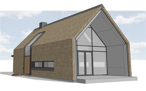 Rieten Huis by Moderne Woning Met Rieten Kap Dingemans Architectuur