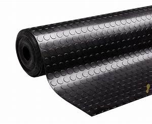 tapis pastilles noir caoutchouc type pirelli hauteur With tapis pastille caoutchouc