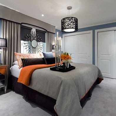 gray and orange bedroom 15 bedroom designs in blue hues grey orange bedrooms 15446