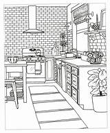 Coloring Pages Adult Books Colouring Rooms Printable Living Kitchen Creative Sheets Decorate Dream Slideshow Interior Printables Drawings Inspired Adults Christianbook sketch template