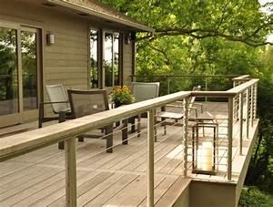 garde corps exterieur sur le balcon designs et materiaux With katzennetz balkon mit petticoat garde