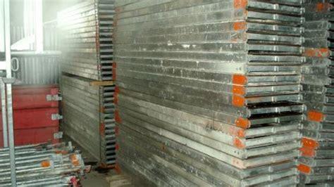 gerüst für treppenhausrenovierung 101 m 194 178 gebrauchtes layher blitz alu ger 195 188 st bauunternehmen