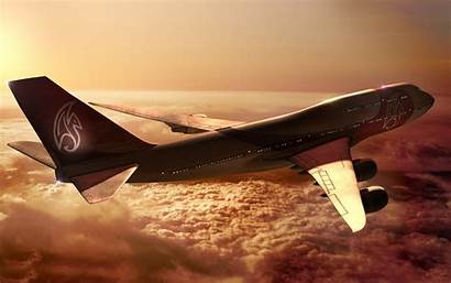 747 Boeing Aircraft Aeroplane Wallpapers Background Flying