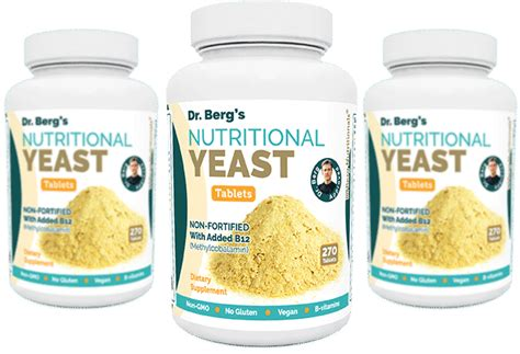 nutritional yeast dr berg