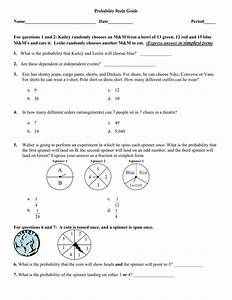 Set Theory  Venn Diagrams  U0026 Probability Test
