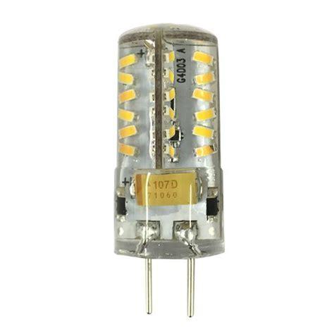 Luxrite 3W 12V GY6.35 LED Bi Pin Warm White 2700K Light
