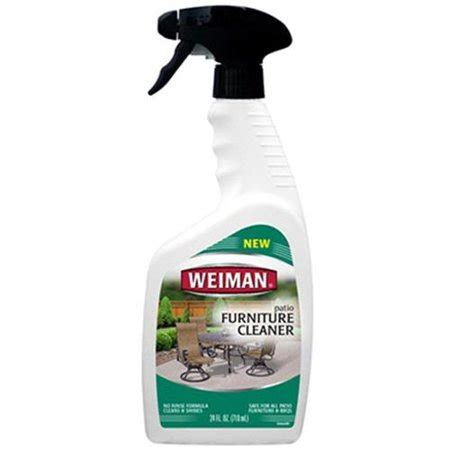 patio furniture cleaner weiman products 116c patio furniture cleaner 24 oz