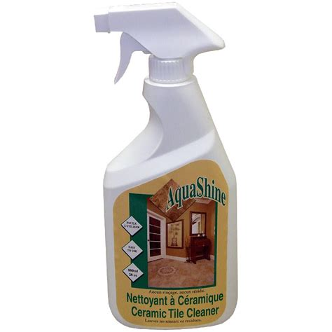 floor tile cleaning products aquashine ceramic tile cleaner 28oz