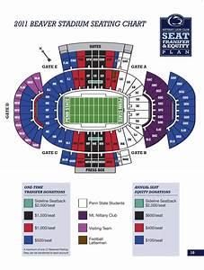 Beaver Stadium Seating Chart 2011 Beaver Stadium Seating Plan Revealed Onward State