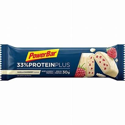 Protein Riegel Powerbar 90g Bar 33 Raspberry