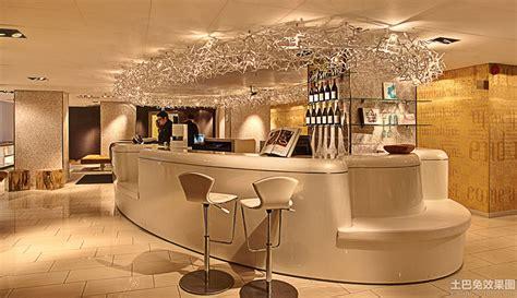 高档酒店吧台设计效果图 土巴兔装修效果图