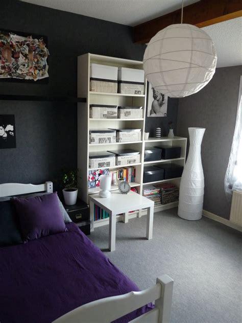 chambre gris et violet nouvelle ambiance chambre gris et violet