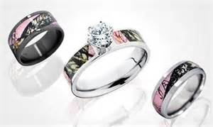 camouflage wedding ring sets camo wedding rings