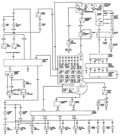 Cj7 Headlight Switch Wiring Diagram by Cj5 Headlight Switch Wiring Diagram Wiring Library
