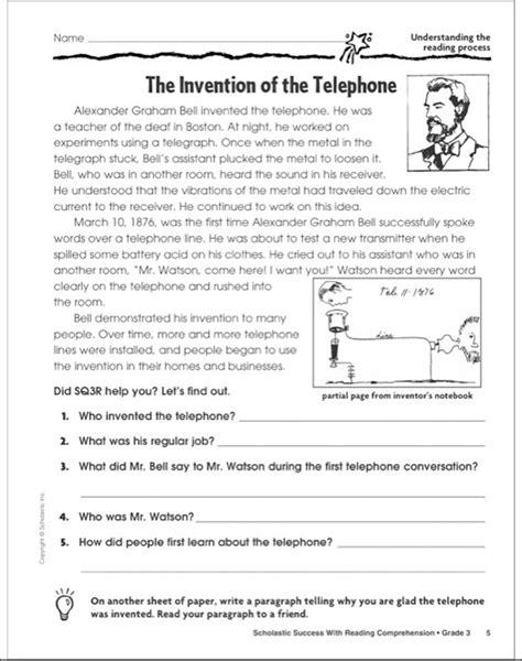 printables  reading comprihension geotwitter kids