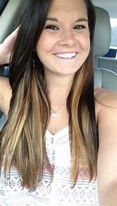 Dark brown hair with blonde highlights underneath   Hair ...