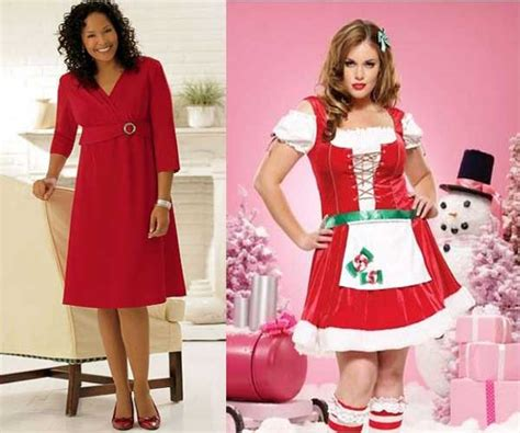 plus size women christmas party dresses collection for