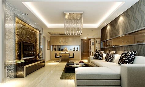 Contemporary Living Rooms  Modern Living Dining Room