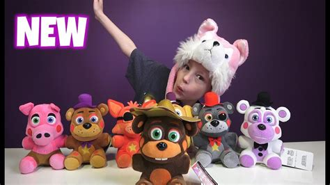 fnaf  plushies funko fnaf plushy giveaway youtube