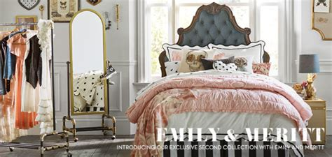 create  glam space  emily meritts pottery barn
