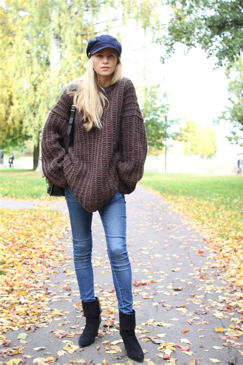 oversized sweater  autumn style staple
