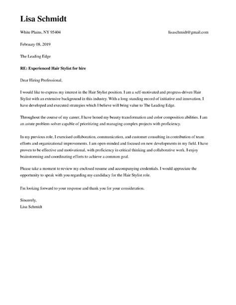 Simple Cover Letter Format by Winning Cover Letter Formats Cover Letter Now