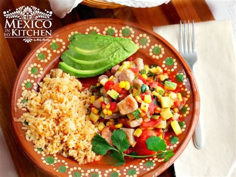 Pork With Zucchini And Corn Stew  Calabacitas Con Puerco
