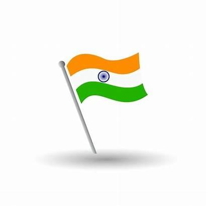 Flag India National Emblem Colors Indian Proportion